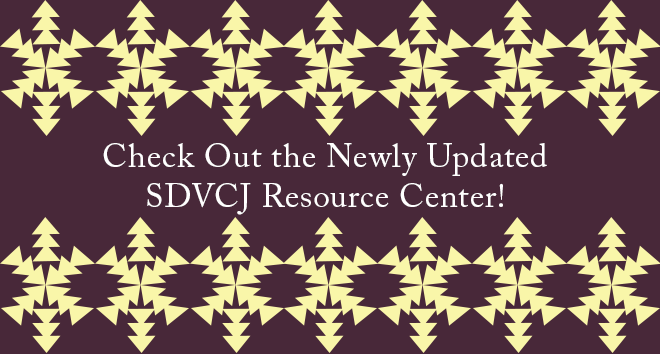 Check out the SDVCJ Resource Center
