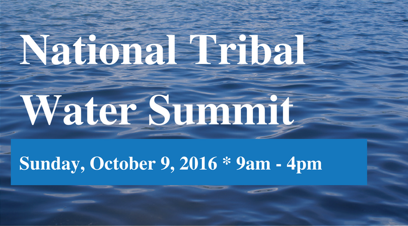 National Tribal Water Summit