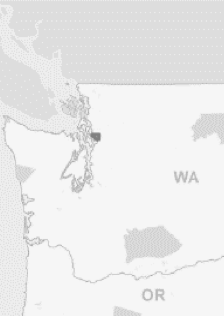 Map showing Tulalip Reservation