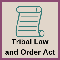 Tribal Law and Order Act icon
